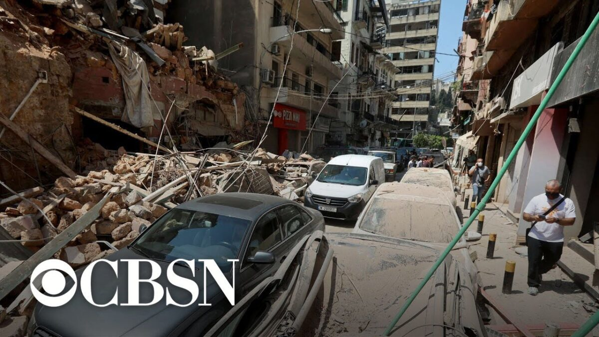 Beirut death toll likely to rise after massive blast blamed on improperly-stored explosives
